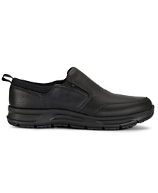 Emeril Lagasse Men's Quarter Slip On Tumbled Slip-Resistant Work Shoe