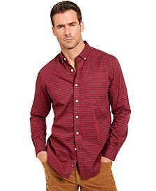 Men's Regular-Fit Stretch Check Shirt, Created For Macy's