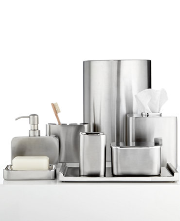 Closeout Hotel Collection Hotel Modern Brushed Stainless