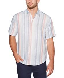 Cubavera Men's Yarn-Dye Stripe Shirt