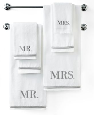 Bath Towels, Mr. & Mrs. 11