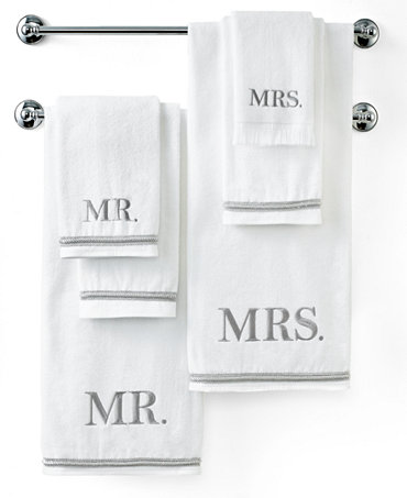 Avanti bath towels mr mrs towel collection bath for Mr and mrs spa