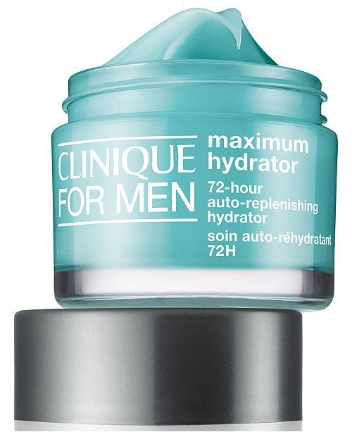 Clinique For Men Maximum Hydrator 72-Hour Auto-Replenishing Hydrator, 1.69-oz.