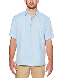 Cubavera Men's Cross-Dye Linen Shirt