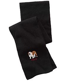 Men's Bulldog Cold Weather Scarf