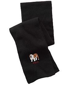 Polo Ralph Lauren Men's Bulldog Scarf