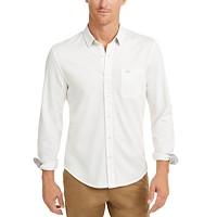Docker Men's Alpha Ultimate Slim-Fit Smart 360 Flex Stretch Shirt