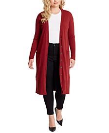 Trendy Plus Size Laela Duster Cardigan