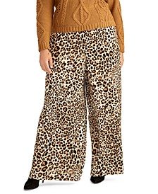 Trendy Plus Size Alice Animal-Print Pants