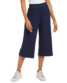Ideology Ribbed Culottes, Created for Macy's