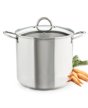 Tools of the Trade 16-Qt. Stainless Steel Stockpot with Lid, Created for Macy's
