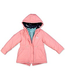 Toddler Girls Hooded 4-In-1 Systems Jacket