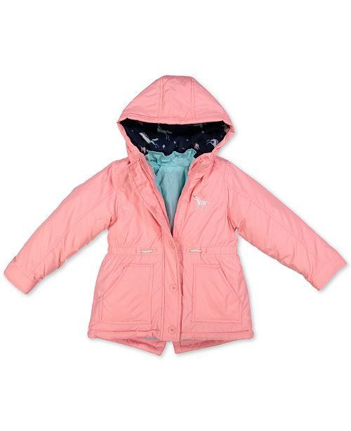 Carter's Toddler Girls Hooded 4-In-1 Systems Jacket