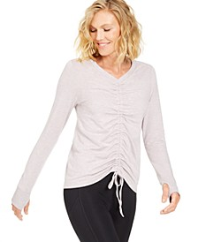 Ruched-Front Top, Created for Macy's