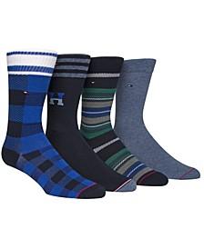 Men's 4-Pk. Dress Socks