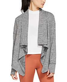 Yoga Women's Draped Cardigan