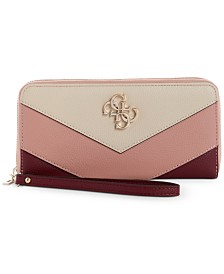 GUESS Kamryn Zip Around Wallet