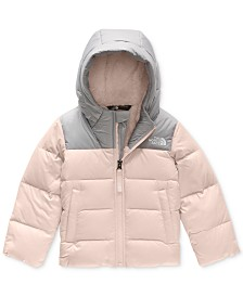The North Face Toddler Girls Moondoggy Hooded Down Jacket