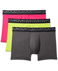 Men's 3-Pk. Performance Cotton Fashion Boxer Briefs