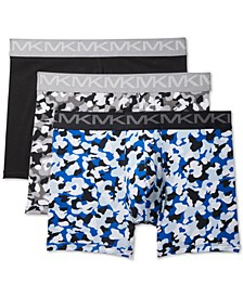 Men's 3-Pk. Stretch Factor Boxer Briefs