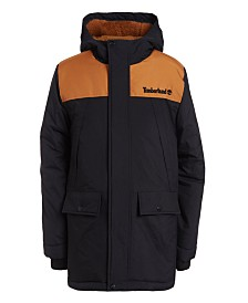 Timberland Big Boys Monroe Snorkel Hooded Jacket