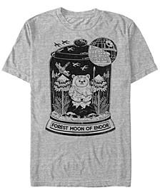 Men's Classic Forest Moon of Endor Ewok Terrarium Short Sleeve T-Shirt