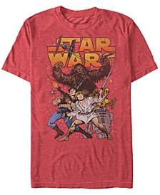 Men's Classic Cartoon Good Guys Short Sleeve T-Shirt