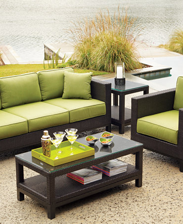 Belize Outdoor Seating Sets Pieces Furniture Macy 39 S