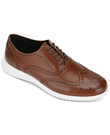 Kenneth Cole Men's Nio Wingtip Dress Casual Oxfords