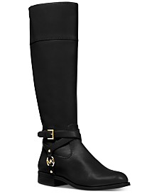 MICHAEL Michael Kors Preston Wide Calf Tall Boots