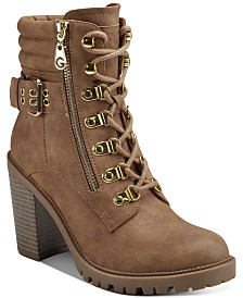 G by GUESS Jaylee Combat Booties