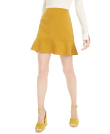 French Connection Dorotea Flared Mini Skirt