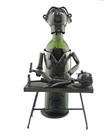 Chiropractor Wine Bottle Holder