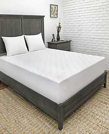 CoolMAX Queen 300 Thread Count Mattress Pad