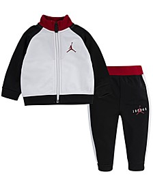 Little Boys 2-Pc. Jumpman Jacket & Pants Set