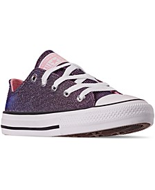 Little Girls Chuck Taylor Ox Space Star Casual Sneakers from Finish Line
