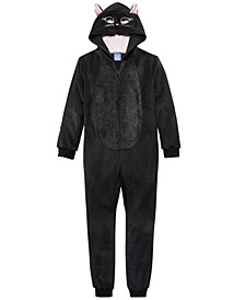 Little & Big Girls Cat Coverall Pajama