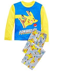 Little & Big Boys 2-Pc. Pokemon Pajamas Set