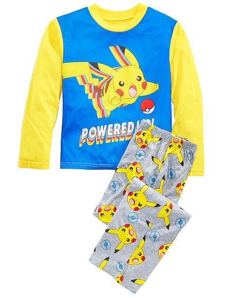 AME Little & Big Boys 2-Pc. Pokemon Pajamas Set
