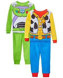 AME Toddler Boys 4-Pc. Cotton Toy Story Pajamas Set