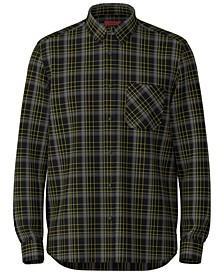 Men's Ermann Relaxed-Fit Plaid Shirt