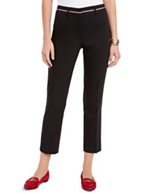 Tommy Hilfiger Signature-Stripe Pants, Created For Macy's