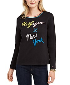X New York Cotton Sweatshirt