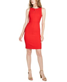 Trina Turk Rogue Sleeveless Sheath Dress