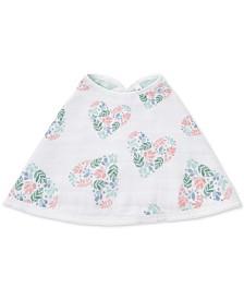 aden by aden + anais Baby Girls Briar Rose Cotton Burpy Bib