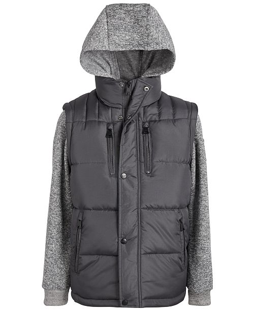 DKNY Big Boys Hybrid Jacket