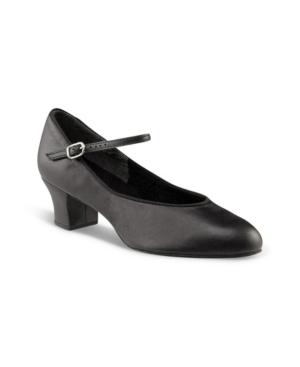 Capezio Suede Sole Jr. Footlight Character Shoe Women's Shoes