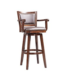 Broadmoor Collection Swivel Extra Tall Barstool