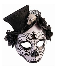Women's House of Bonez Skull Mask with Top Hat