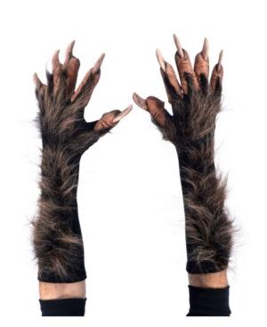Adult Wolf Gloves